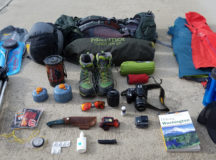Essentials for a summer backpacking trip