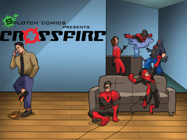 "SFCC and SCC Students Team Up to Create Comics Series ""Crossfire"""